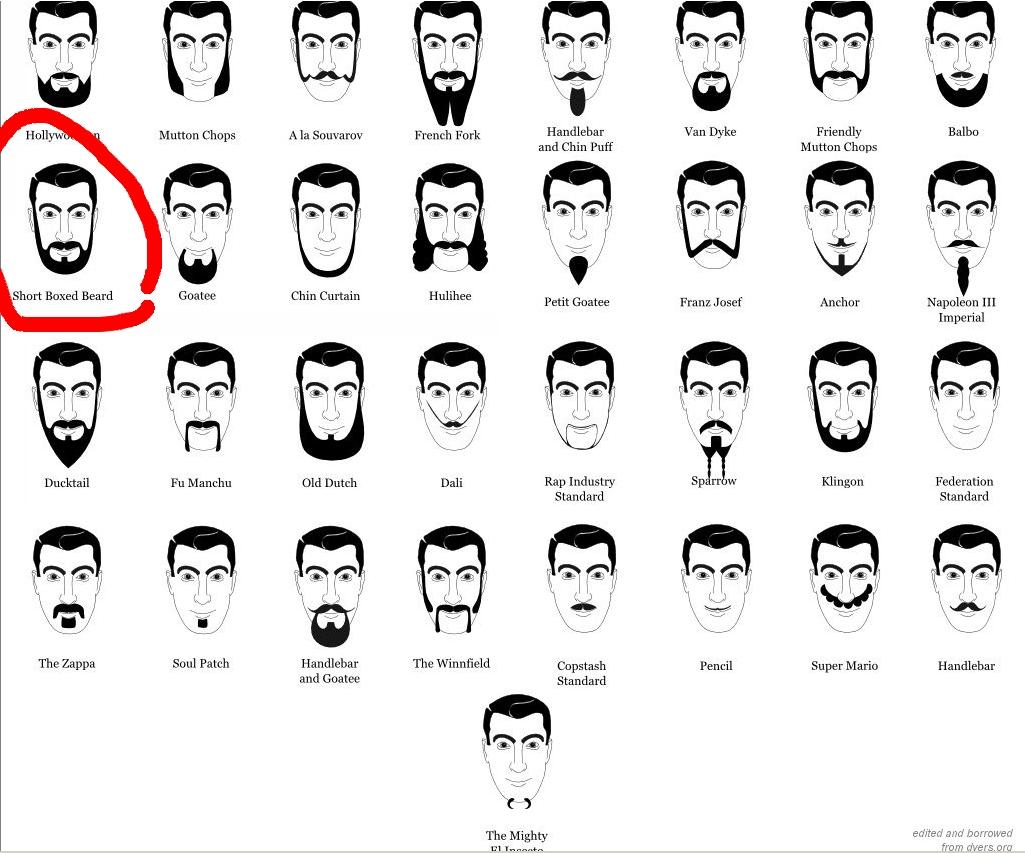 Как выбрать дизайн бороды