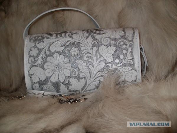Дамская сумочка ручной работы.