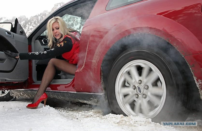 Застрял в снегу - ЯПлакалъ