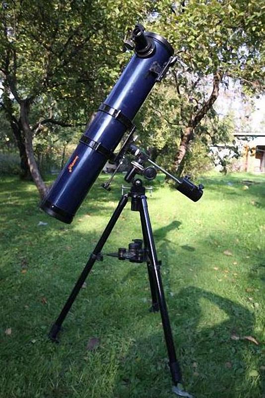 """Далекие миры или """"Что спрятано внутри телескопа?"""""""