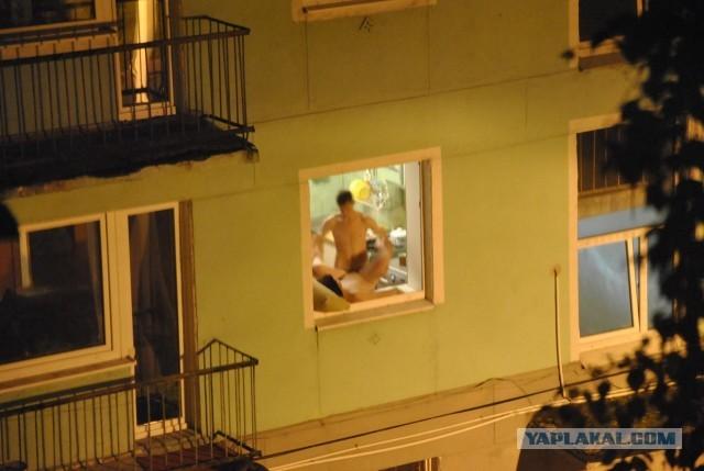 Фото,подсмотрел,окно,парочка,свежий воздух,Эротика,красивые фото обнаженных