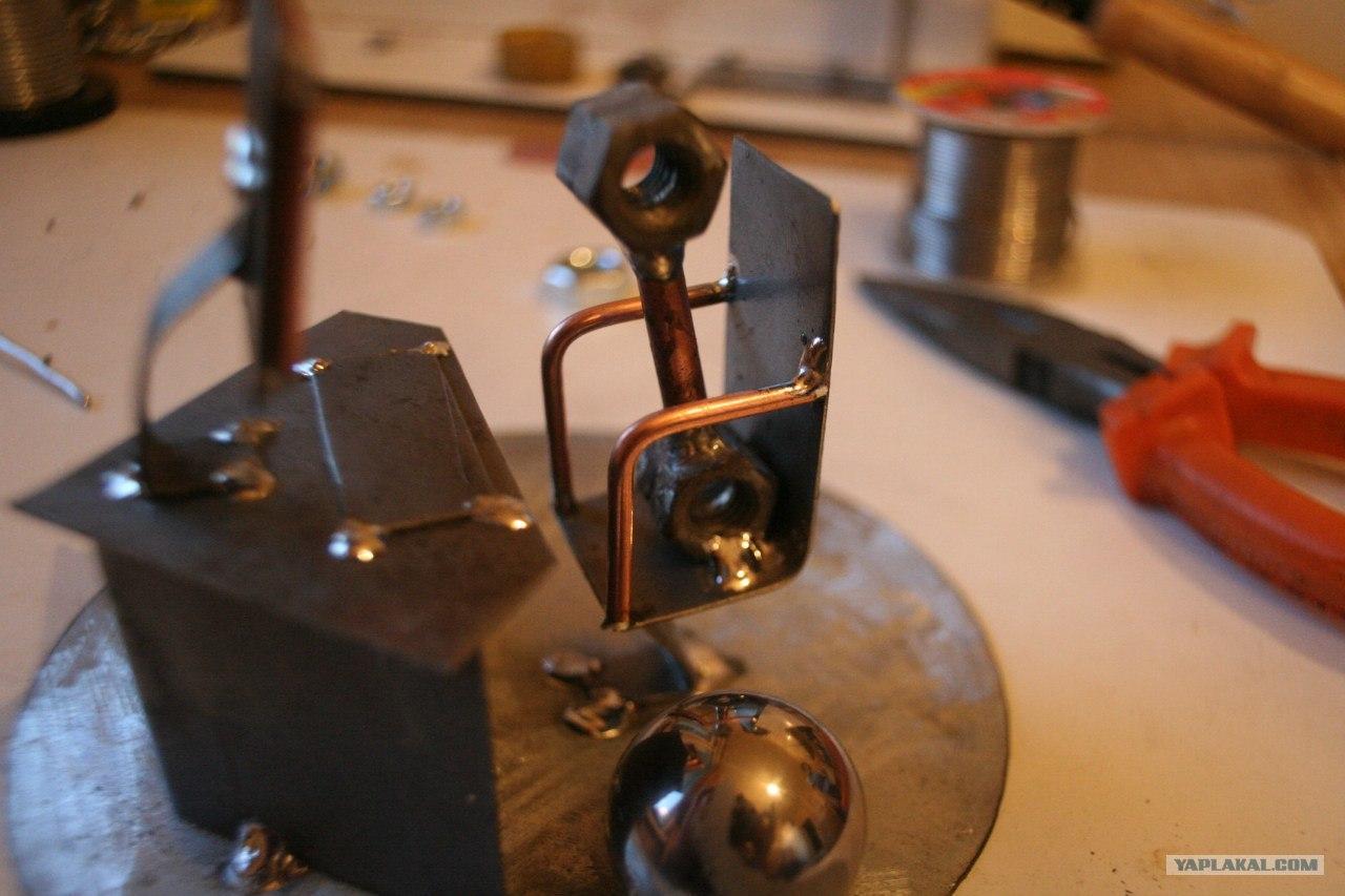 Двигатель металл своими руками