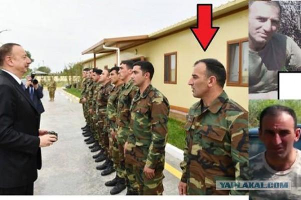 Алиев наградил азербайджанского военнослужащего, обезглавившего армянского солдата
