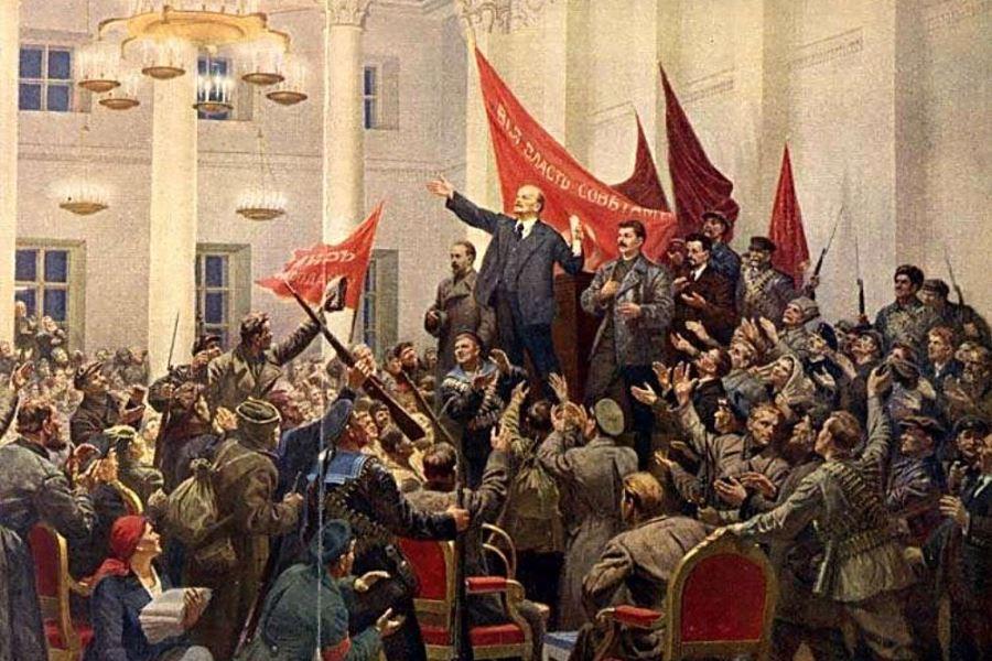 7 ноября почему день октябрьской революции
