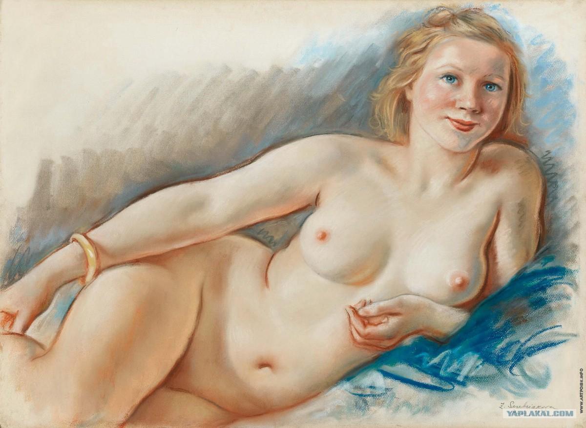 Голые женщины в рисунках