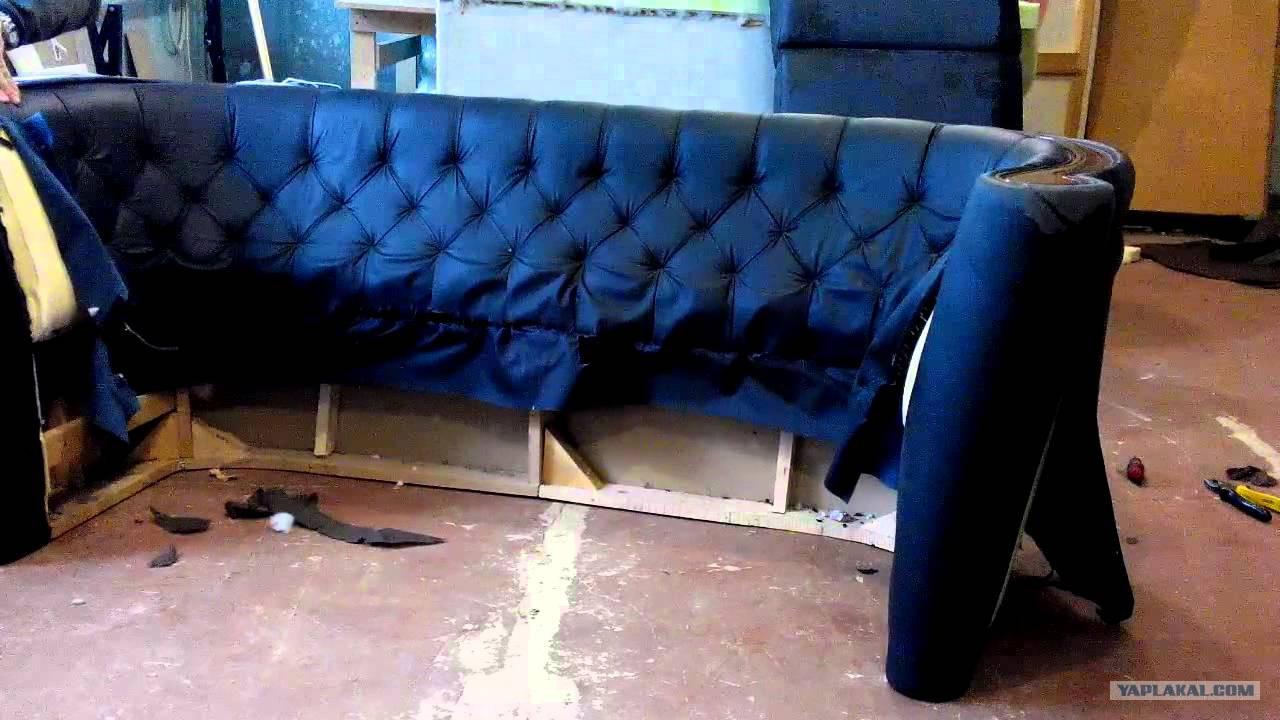 Как обшить мягкую мебель своими руками