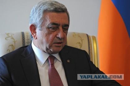 Саргсян подал в отставку с поста премьер-министра Армении