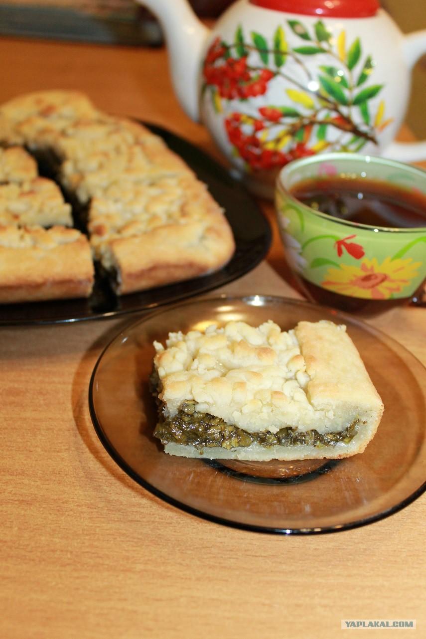 Пирог с щавелем на кефире рецепт пошагово в духовке