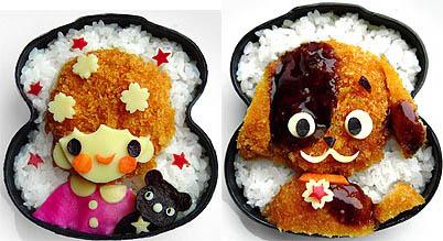 Еда для любителей мультфильмоф 7 фото