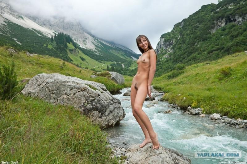 Фото голые в горах