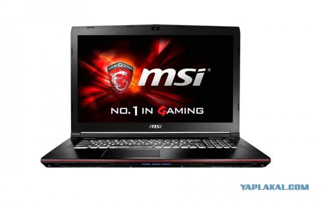 ноутбук MSI GE62 Apache