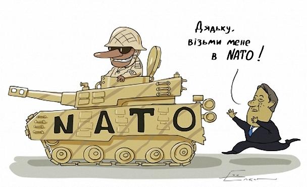 НАТО не будет вступать в военные действия для