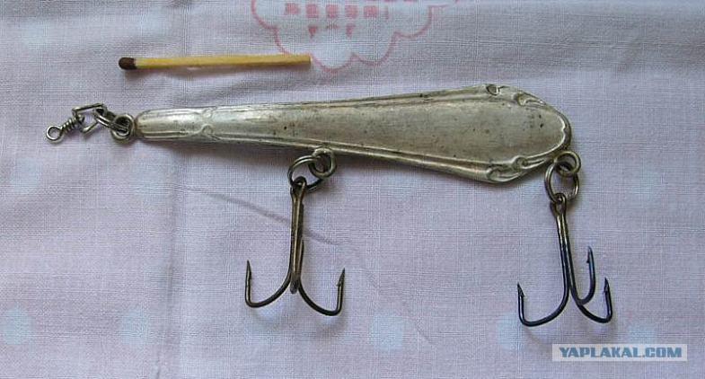 Ложка для зимней рыбалки своими руками видео