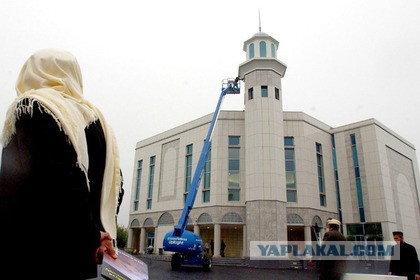 Загорелась крупнейшая мечеть
