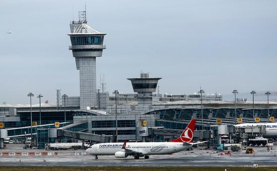 В аэропорту Стамбула произошел взрыв