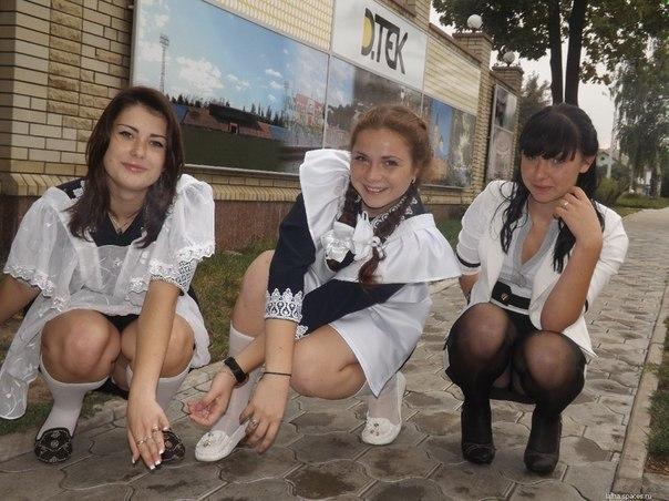 под юбкой фото русское