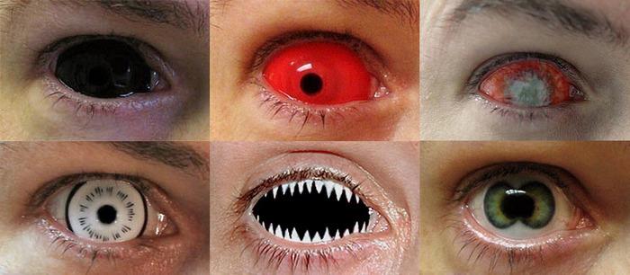 Тату глазного яблока