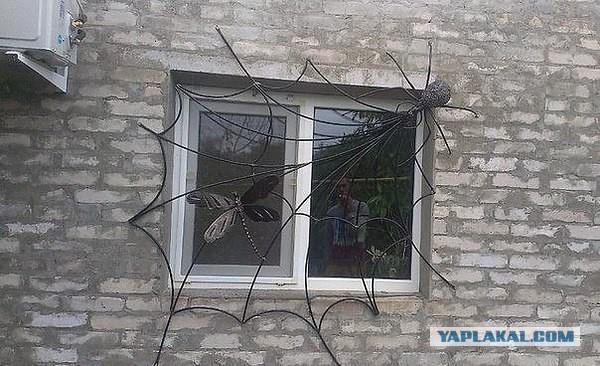 Решетка на дачное окно