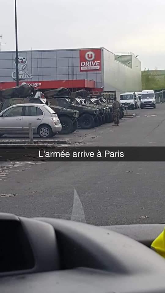 Армия движется на Париж