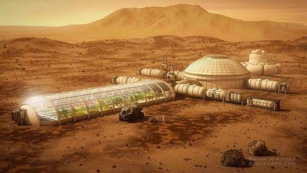На Марсе уже есть секретная человеческая колония