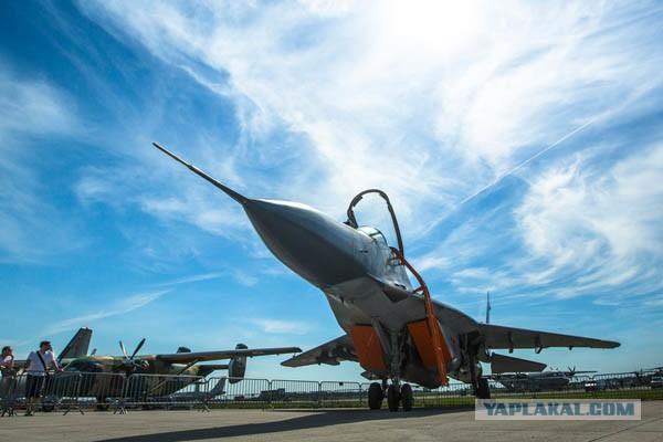 Истребитель НАТО развалился перед взлетом