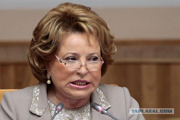 Матвиенко жестко выступила попенсионной реформе