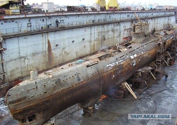 заброшенные места подводные лодки