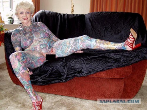фото татуированные тетки