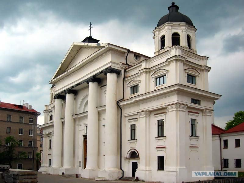 Католический костёл в Могилёве.  Храм Святого Станислава в Могилеве.