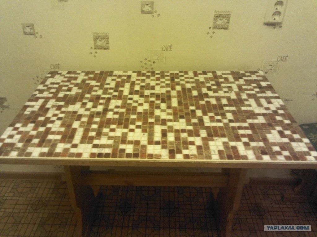 Обновить столешницу кухонного стола