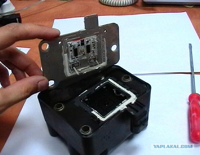 Ремонт модуля зажигания своими руками