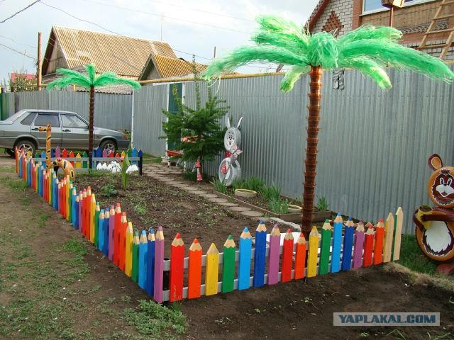 Детские заборчики для дома своими руками 17