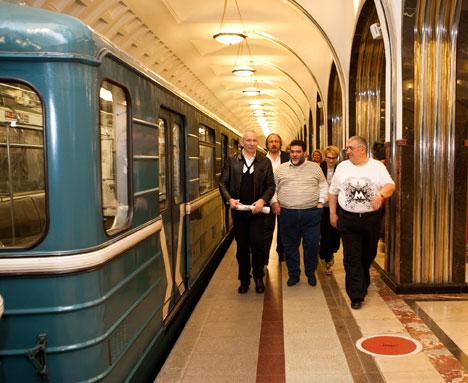 Готье в московском метро