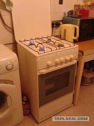 Отдам даром газовую плиту, кухню (Москва))