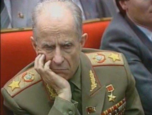 Странное самоубийство маршала Ахромеева