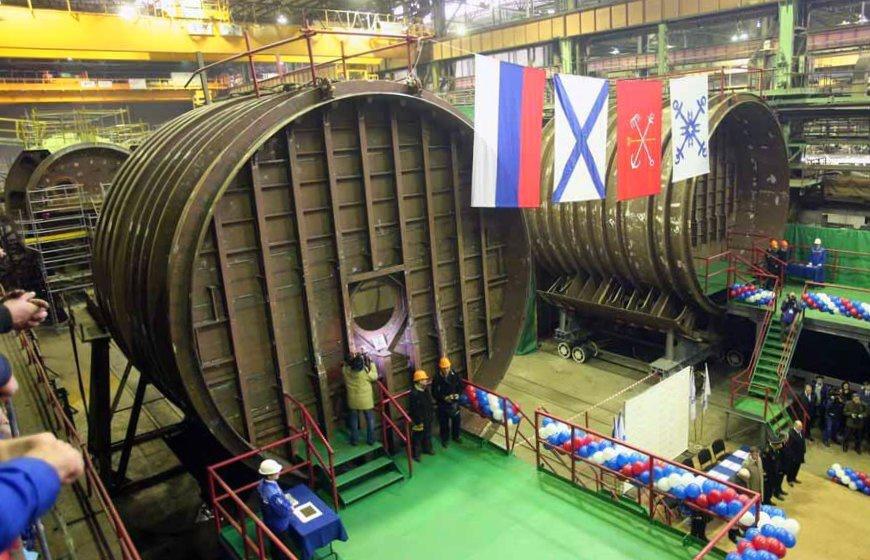 закладка новейшей подводной лодки