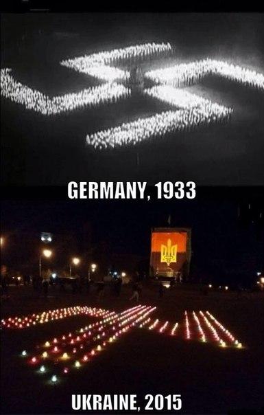 Германия 1939. Украина 2015. Две фотографии