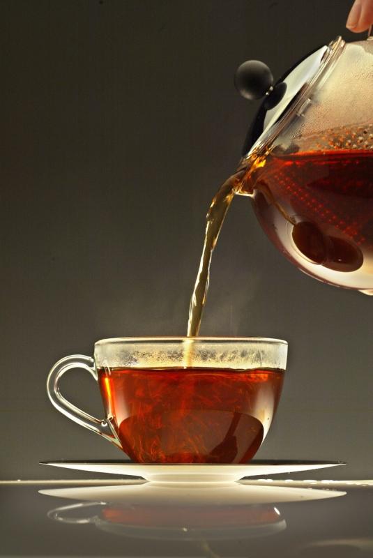 Сосуд для горячего чая