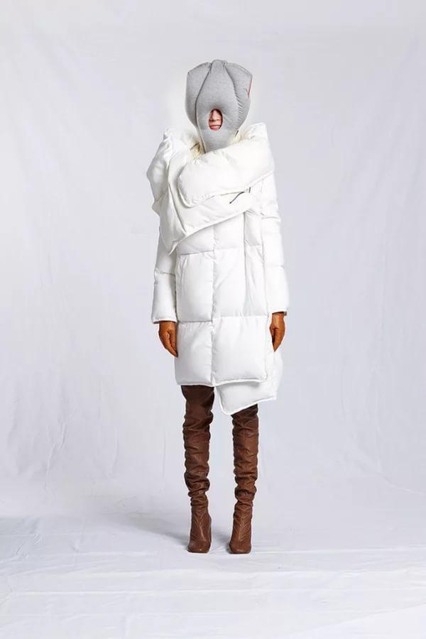 Пальто из одеяла своими руками