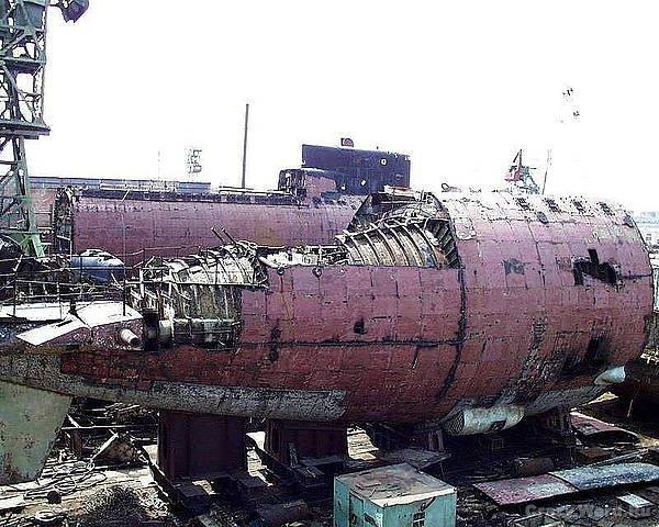 утиль подводных лодок