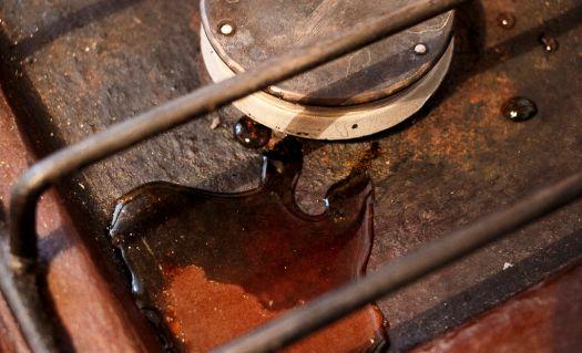 В хрущёвке по газовым трубам подали... воду