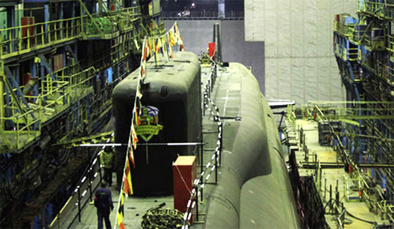 строящиеся атомные лодки россии