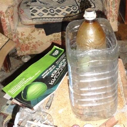 Как сделать мокрый бульбулятор из бутылки