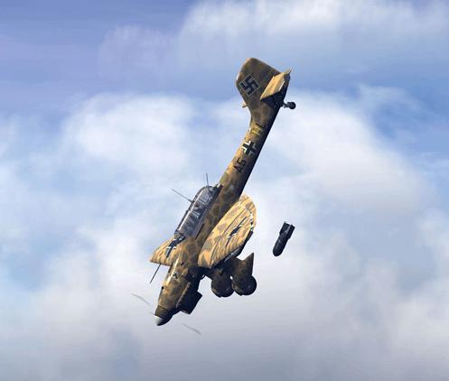 Почему немецкие бомбы и самолёты свистели?