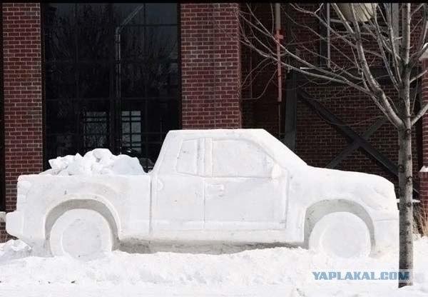 Что можно сделать из снега?