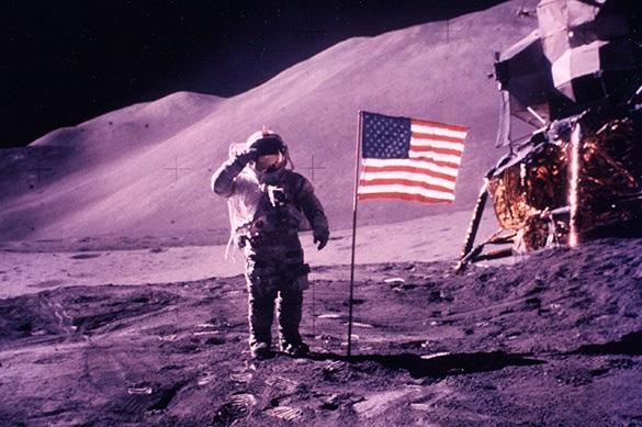 Флагов США на Луне больше нет