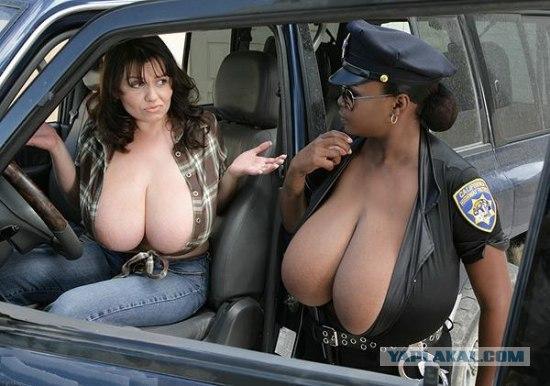 фото голых девушек полицейских