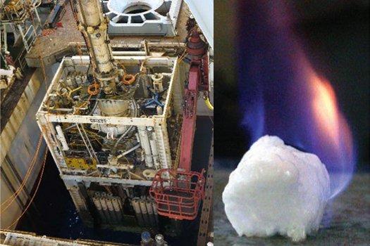 Япония смогла извлечь газ из гидрата метана