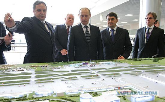 Президент подписал указ о передаче Шереметьево