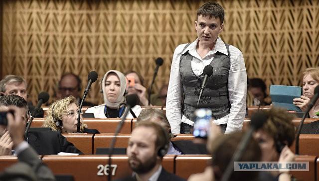 Н Савченко выступает за отмену антироссийских санкций